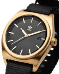 Quarzuhr Process_W2 Z09-513-00 Gold / Black adidas Originals Herren Stoff 3608701051948