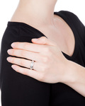Ring 925 Sterling Silber Anna-Malou silber Zirkonia
