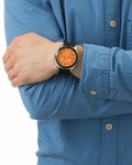 Quarzuhr 1512894 BOSS Orange Herren Silikon 7613272091770