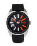 Quarzuhr LONDON XXL 1513110 BOSS Orange orange,schwarz,silber 7613272143585