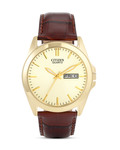 Quarzuhr BF0582-01PE CITIZEN braun,gold 4974374207487