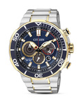 Solaruhr Eco-Drive Sports CA4254-53L CITIZEN blau,gold,silber 4974374250094