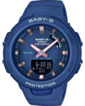 Digitaluhr BSA-B100-2AER CASIO Damen Kunststoff 4549526203480
