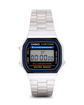 Digitaluhr Retro Collection A168WA-1YES CASIO mehrfarbig,silber 4971850436713