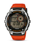 Digitaluhr AE-2100W-4AVEF CASIO orange,schwarz,silber 4971850027089