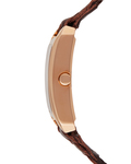 Quarzuhr Time Weaves Rose Gold ES106032005 Esprit Damen Leder 4891945164843