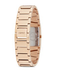 Quarzuhr Time Fancy Deco Rose Gold ES106072003 Esprit Damen Edelstahl 4891945164997
