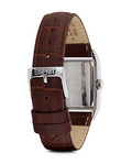 Quarzuhr Time Fundamental Brown ES000EO2010 Esprit Damen Leder 4891945149925