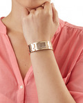 Quarzuhr Time Houston Aluminum Rosegold ES105892006 Esprit Damen Edelstahl 4891945161095