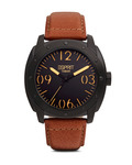 Quarzuhr Time Baker Brown ES106381003 Esprit braun,schwarz 4891945166991