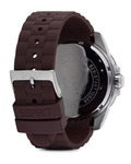 Quarzuhr Time Clash Brown ES105831004 Esprit Herren Silikon 4891945158941