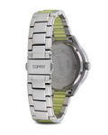 Quarzuhr Time Marin Marin Lucent Speed Lime ES106202004 Esprit Damen Edelstahl 4891945165796