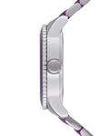 Quarzuhr Time Marin Marin Lucent Purple ES106192006 Esprit Damen Edelstahl 4891945165727