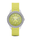 Quarzuhr Time Marin Marin Glints Speed Lime ES106222003 Esprit grün,silber 4891945165956
