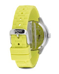 Quarzuhr Time Marin Marin Glints Speed Lime ES106222003 Esprit Damen Silikon 4891945165956