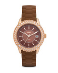 Quarzuhr Time Marin Marin Glints Brown ES106212008 Esprit braun,gold 4891945165925