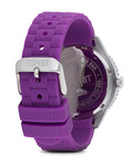 Quarzuhr Time Marin Marin Glints Speed Purple ES106222005 Esprit Damen Silikon 4891945165970