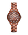 Quarzuhr Time Marin Marin Aluminum Speed Brown ES105802009 Esprit braun 4891945160548