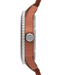Quarzuhr Time Marin Marin Aluminum Speed Brown ES105802009 Esprit Damen Edelstahl 4891945160548