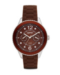 Quarzuhr Time Marin Marin 68 Speed Brown Chocolate ES105332016 Esprit braun,silber 4891945160807
