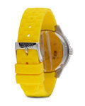 Quarzuhr Time Marin Marin 68 Yellow ES105342011 Esprit Damen Silikon 4891945154318