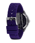 Quarzuhr Time Marin Marin 68 Purple ES105342006 Esprit Damen Silikon 4891945151430