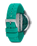 Quarzuhr Time Marin Marin 68 Speed Green ES105332007 Esprit Damen Silikon 4891945151348