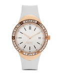 Quarzuhr Collection Time Eunomia Rose Gold White EL101982F05 Esprit Collection mehrfarbig,roségold,weiß 4891945168636