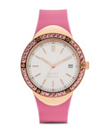 Quarzuhr Collection Time Eunomia Pink EL101982F04 Esprit Collection mehrfarbig,pink,roségold 4891945168629