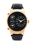 Quarzuhr Collection Time Polydora Sunset EL900482003 Esprit braun,roségold,schwarz 4891945113971
