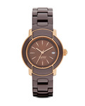 Quarzuhr Collection Time Arethusa Brown EL101882F04 Esprit Collection braun,roségold 4891945168933