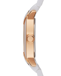 Quarzuhr Collection Time Arethusa Rosegold White EL101882F03 Esprit Collection Damen Keramik 4891945168926