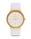 Quarzuhr Collection Time Cleodora Gold EL101772F03 Esprit Collection gold,weiß 4891945152581
