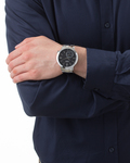 Quarzuhr Collection Time Helio Black EL101021F05 Esprit Collection Herren Edelstahl 4891945127817