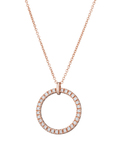 Esprit Halskette Brilliance Rose 925 Sterling Silber