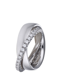 Ring Brilliance Couple aus 925 Sterling Silber mit Zirkonia Esprit