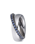 Ring Brilliance Couple Blue 925 Sterling Silber Esprit