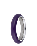 Ring Marin 68 Purple Resin Esprit