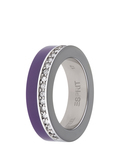 Ring Marin 68 Glam Purple Resin Esprit