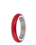 Ring Marin 68 Red Light Red Edelstahl Esprit