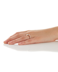 Ring Olympia Glamline 925 Sterling Silber Esprit Collection klar,roségold Kein Schmuckstein