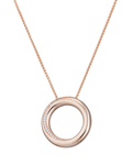 Halskette Peribess Rose Gold 925 Sterling Silber Esprit Collection 4891945911546