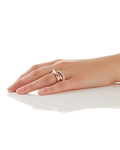 Ring Periboia Pure Rose 925 Sterling Silber Esprit Collection klar,roségold Kein Schmuckstein