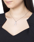Halskette 925 Sterling Silber-Zirkonia Esprit Collection silber Zirkonia 4891945424350