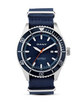 Quarzuhr SEABROOK MILITARY in Blau W70632 GANT TIME blau 7340015325761