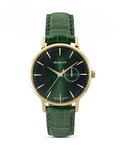 Quarzuhr Park Hill II W109221 GANT TIME gold,grün 7340015328175