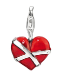 Charm My Only Love 925 Sterling Silber Heartbreaker 4260168188538