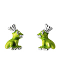 Ohrstecker Froggy 925 Sterling Silber Heartbreaker 4260168184813