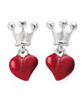 Ohrstecker Crown Of My Heart 925 Sterling Silber Heartbreaker 4260168180082