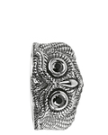 Ring Owl 925 Sterling Silber Heartbreaker
